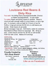 Load image into Gallery viewer, Louisiana Red Beans & Dirty Rice Mix