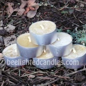Beeswax Tealights- 4 varieties!