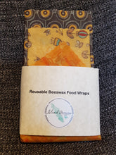 Load image into Gallery viewer, Beeswax Food Storage Wraps