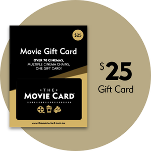 $25 Movie Gift Card -The Movie Card