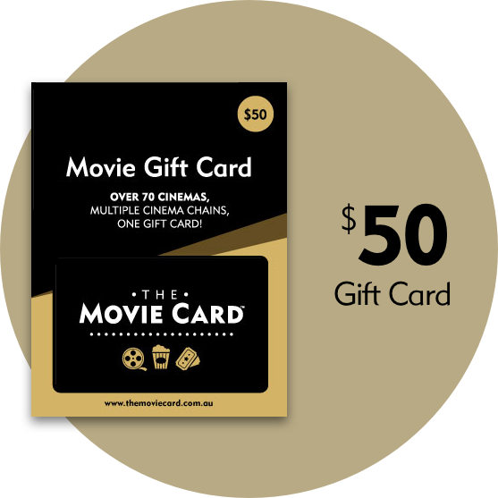 $50 Movie Gift Card - The Movie Card