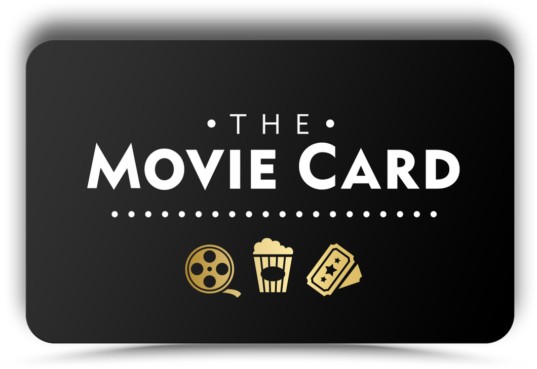 Movie Gift Card - Movie Card Digital