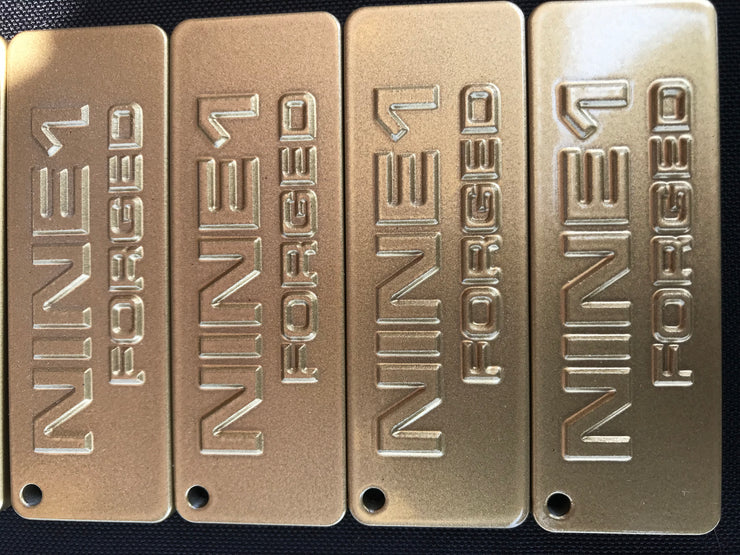 Nine1forged Aluminum keychain