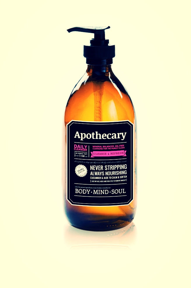 We Love the Apothecary's New Identity