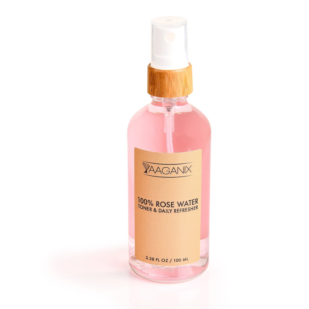 100% Rose Water Toner & Daily Refresher