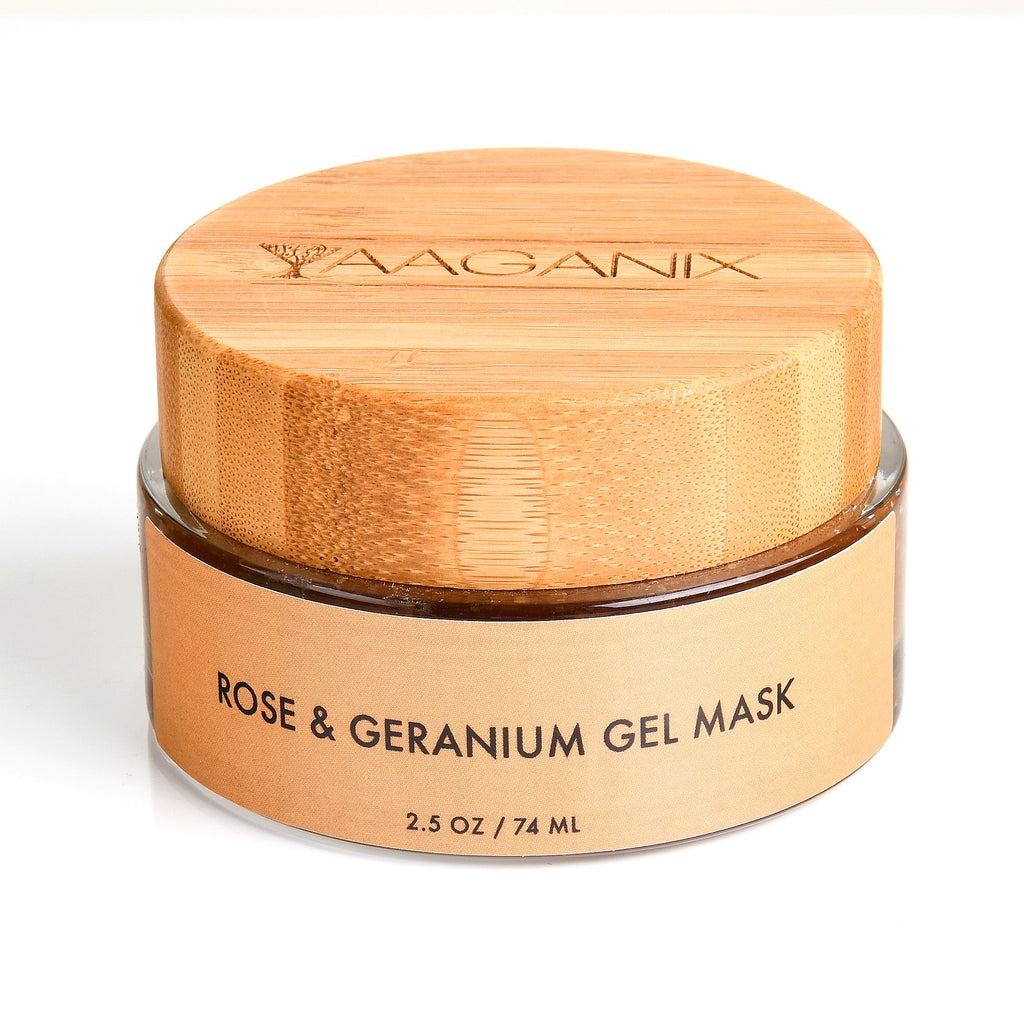 Rose & Geranium Gel Mask