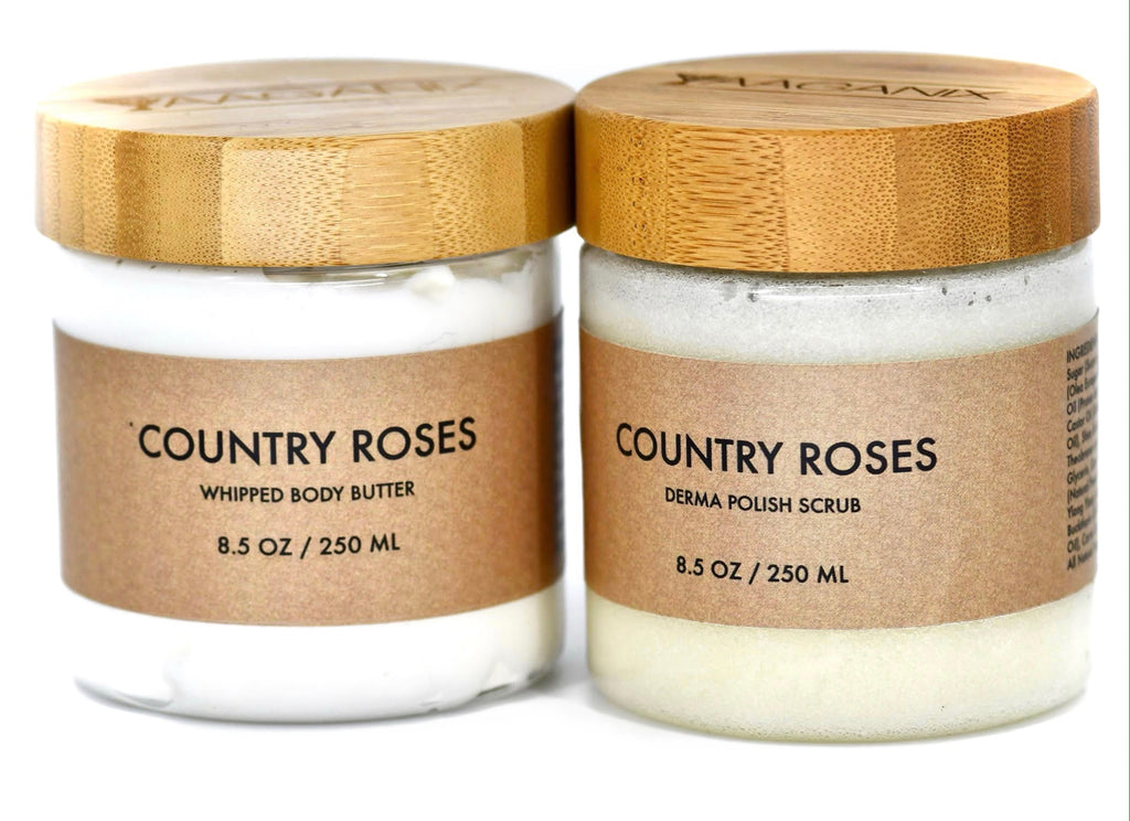 Country Rose Skin Polish Combo