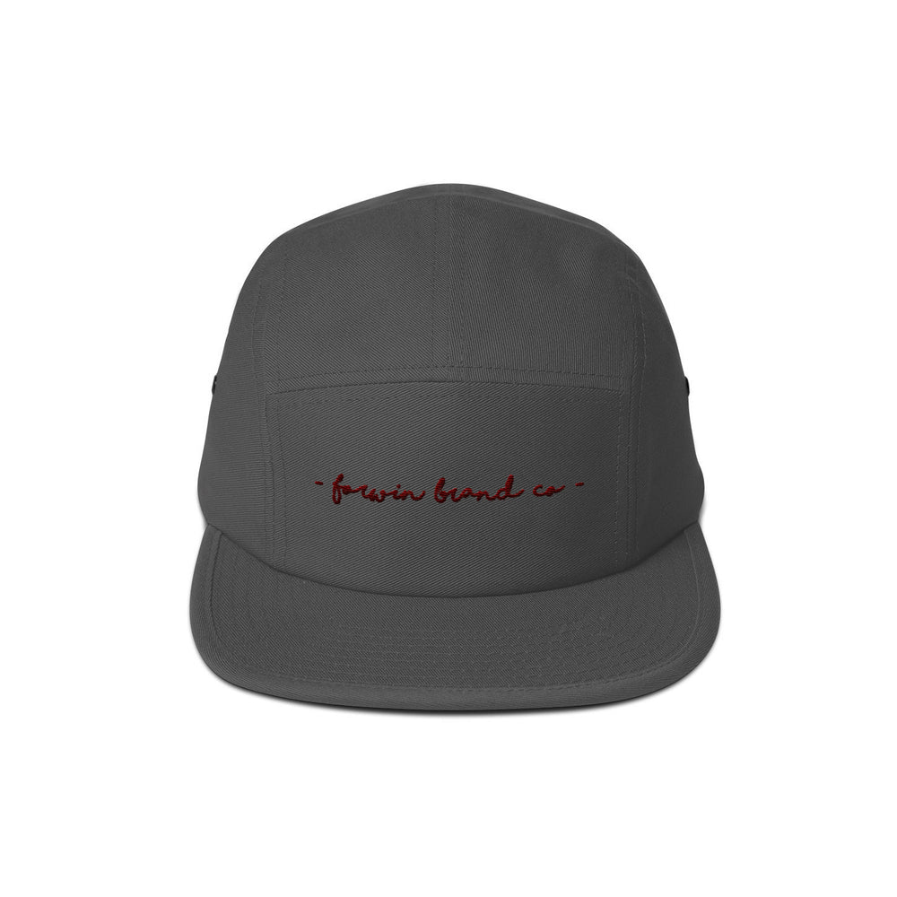 HANDWRITTEN // 5 PANEL HAT - Forwin Brand Co.