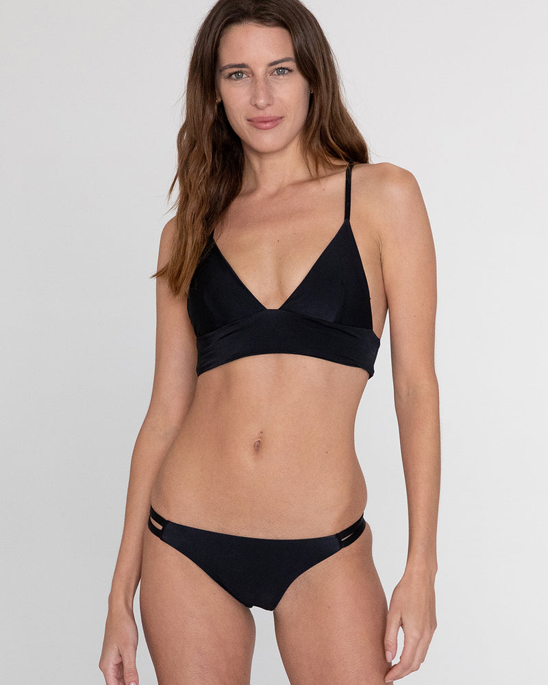 Siena Strappy Back Top (Nero)