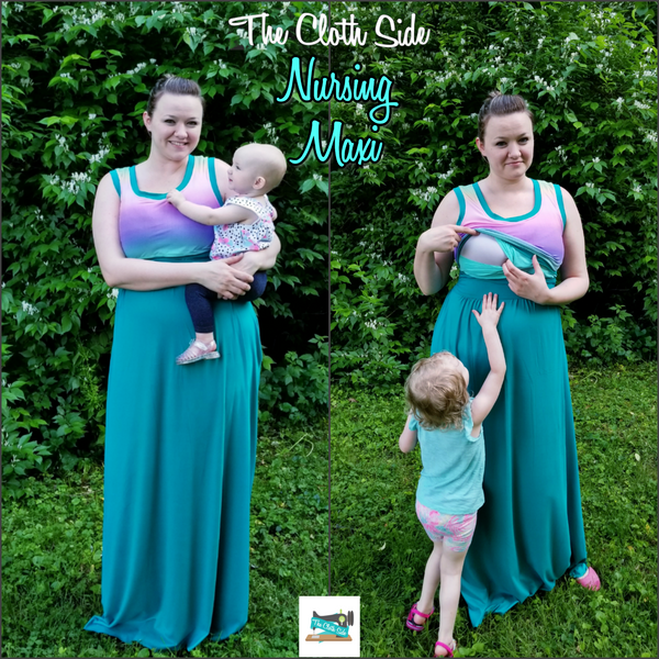 Seasonal Item Coming Soon! Nursing Maxi Dresses!