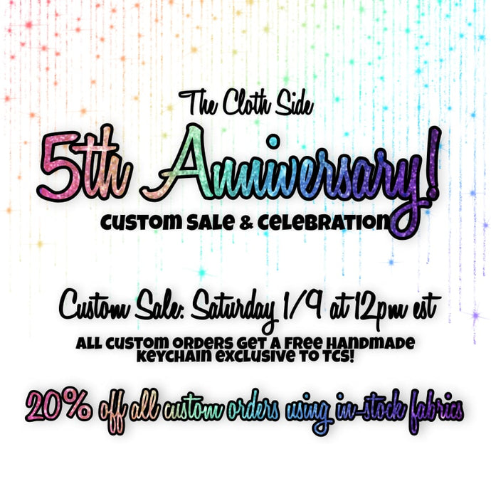 Anniversary Sale and Celebration