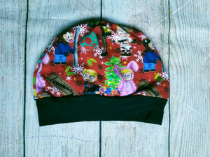 Toddler Beanie - Christmas Story Red