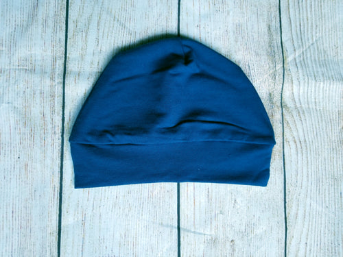 Toddler Beanie - Deep Blue