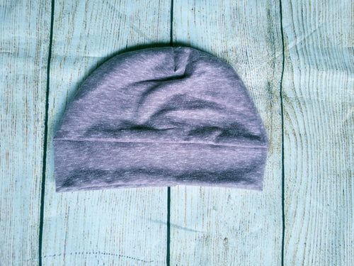 Toddler Beanie - Heathered Mauve