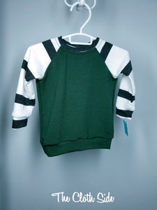 Raglan - Forest Stripe - 12-18mo