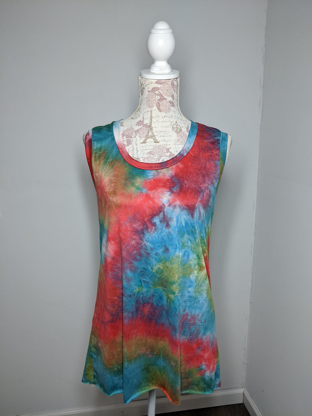 Tie Dye Monica Tanks - XL (Jaded)