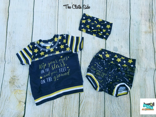 Infant Stars Tees/Bummies/Sets - Newborn and 3 Months