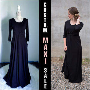 Custom Listing - Knee Length Nursing Mia Maxi