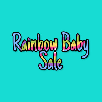 Rainbow Baby Sale - SET - BUMMIES/HEADBAND