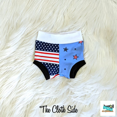 Patriotic Bummies - NB-5T
