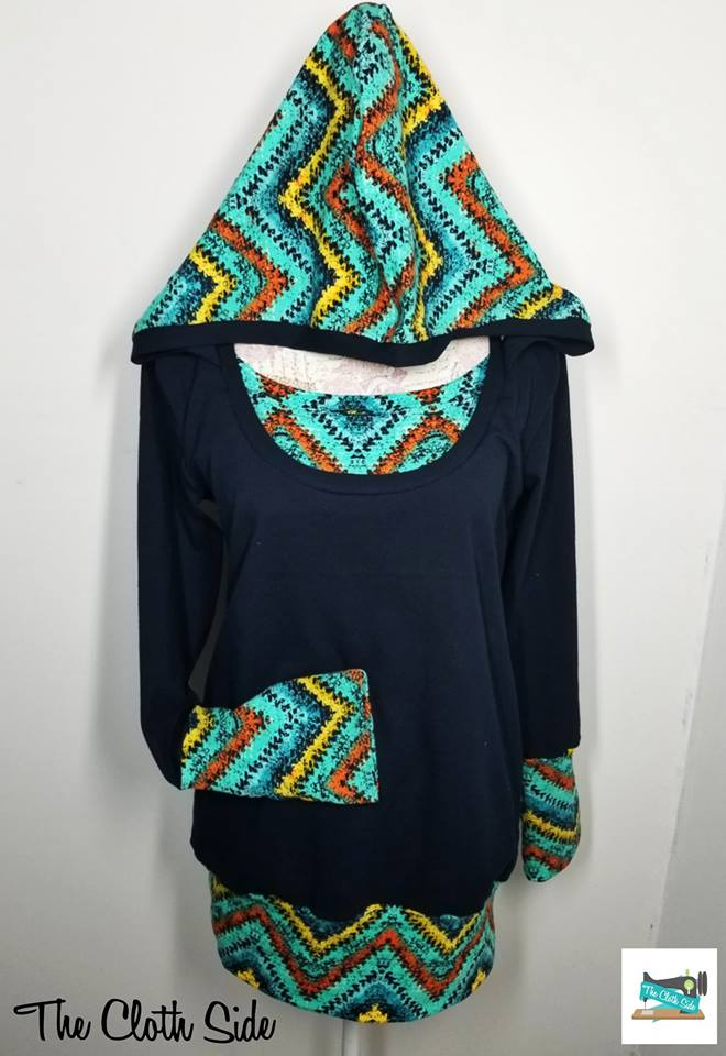 Paris Hooded Nursing Top - In-Stock - XXXL
