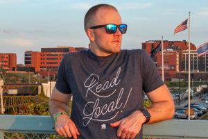 Read Local Tee - Blue