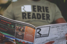 Load image into Gallery viewer, Erie Reader Tee in Olive
