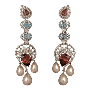 Storeyed tale earrings