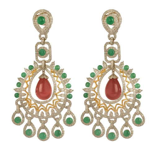 Shop Indian Dancing Peacock Earrings