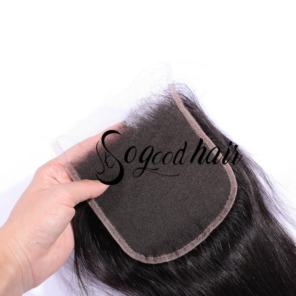 "5""×5"" Straight HD Swiss Lace Closure 