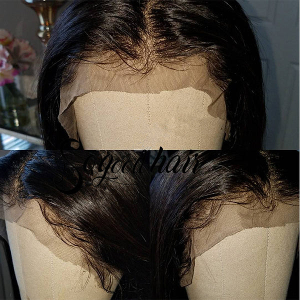 Yaki Straight 13x3 Lace Front Wig With Stretch Lace Back |Special Offer - sogoodhair
