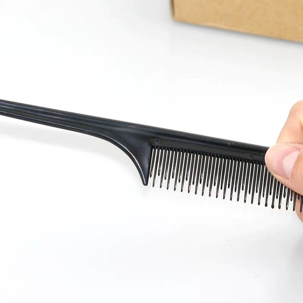 Black Pointy Comb - sogoodhair
