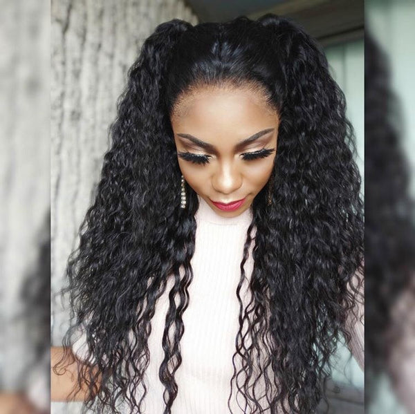 Deep Curly | 13x6 Lace Frontal Wig | Pre-Plucked - sogoodhair