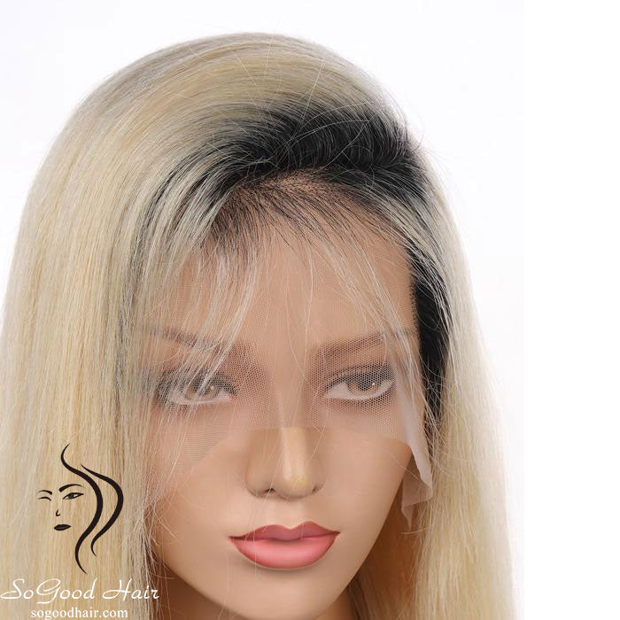 Ombre Blonde Glueless Full Lace Wig | Natural Hairline - sogoodhair
