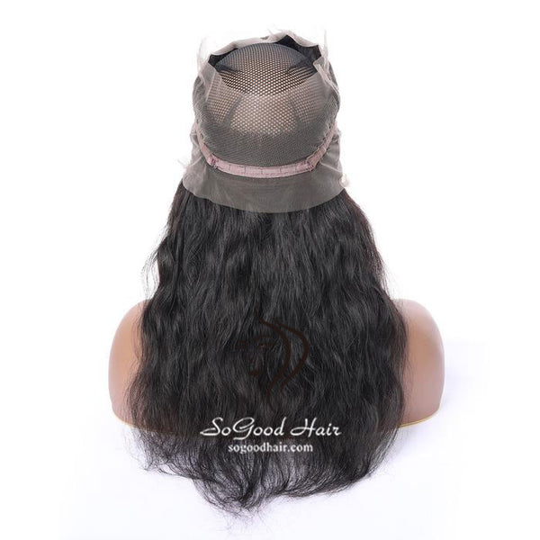 360 Frontal Body Wave Natural Color Brazilian Virgin Hair 10-20inch SoGoodHair--SG4112 - sogoodhair