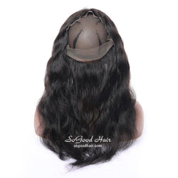 Pre-plucked 360 Lace Frontal| Body Wave Brazilian Virgin Hair 10-20inch SoGoodHair--SG4112 - sogoodhair