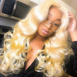 13x4 Blonde Wave Lace Front Wig| Pre-plucked - sogoodhair