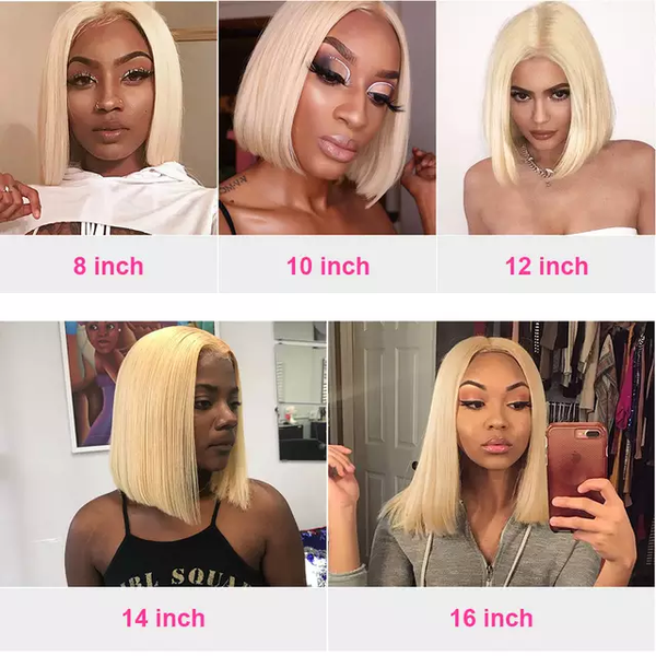 Blonde BOB Haircut | Lace Front Wig | Pre-Plucked