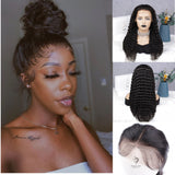 Beyonce| Deep Wave Full Lace Wig| Virgin Human Hair Pre-Plucked& Bleached