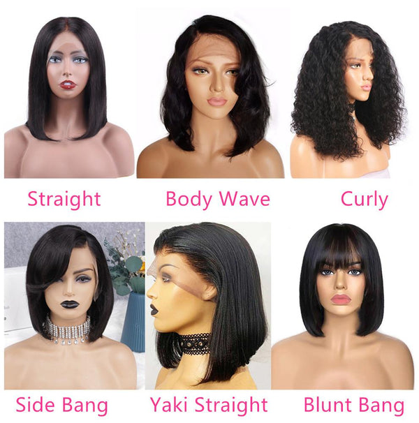 Miya 13x4 Pre-Made Fake Scalp Lace Frontal With Piano Keys Elastic Band Bob Wig