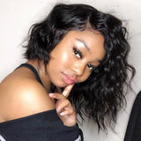 Kween 13x6 Lace Frontal Bob Wig Full Texture| Invisible Knots