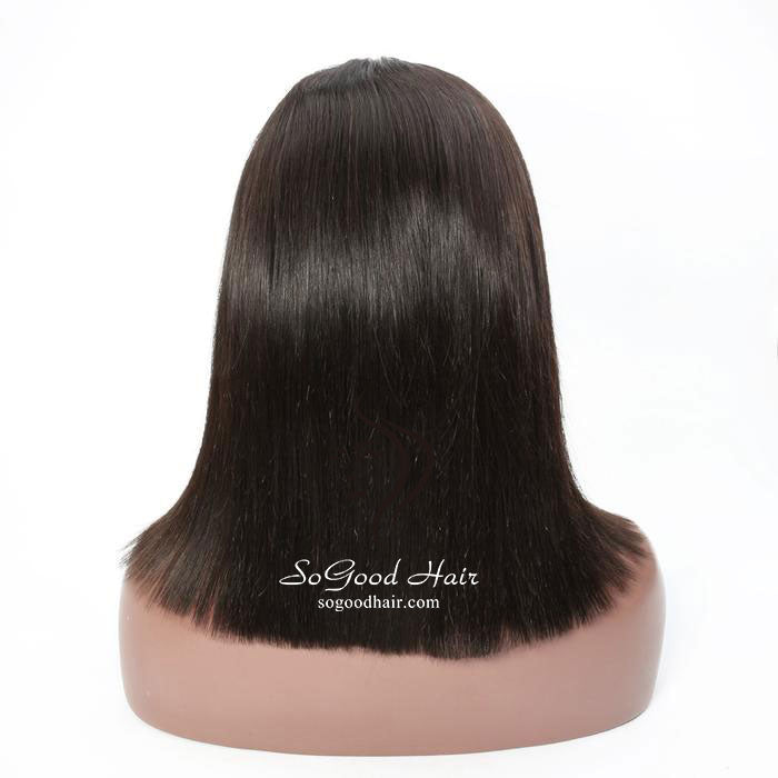 Straight BOB Wig |  Lace Front Wig| 150% Density - sogoodhair