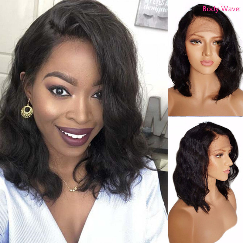 Fake Scalp 360 Frontal Bob Wig| Invisible Knots