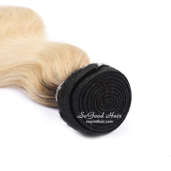 Brazilian Virgin Hair Weave Body Wave Ombre Human Hair Bundles 10-30inch SoGoodHair--SG2312 - sogoodhair