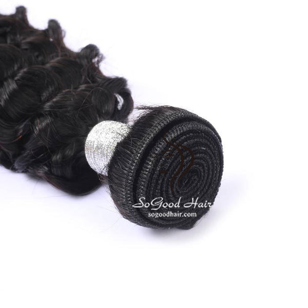 Brazilian Virgin Hair Weave Deep Curly Natural Color Human Hair Bundles 10-30inch SoGoodHair--SG2142 - sogoodhair