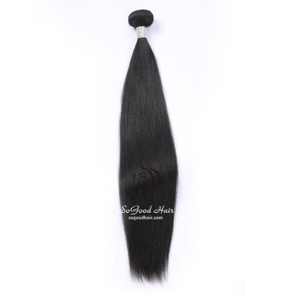 Malaysian Virgin Hair Weave Straight Natural Color Human Hair Bundles  10-30inch SoGoodHair--SG2102 - sogoodhair
