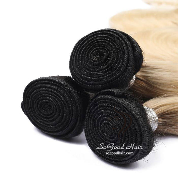 3 Brazilian Virgin Human Hair Bundles Body Wave Ombre 10-30inch SoGoodHair--SG2311 - sogoodhair