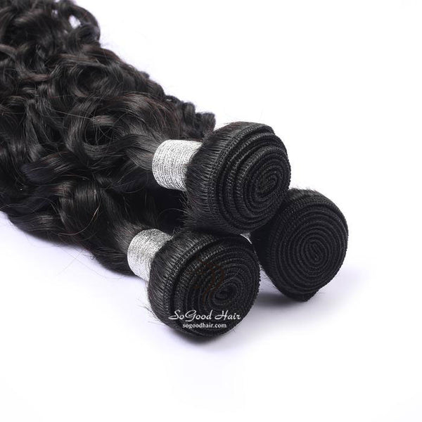 3 Brazilian Virgin Human Hair Bundles Natural Curly Natural Color 10-30inch SoGoodHair--SG2161 - sogoodhair