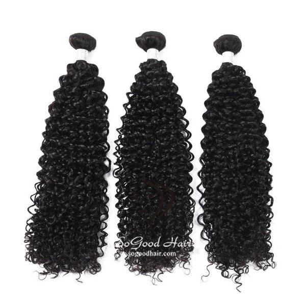 3 Brazilian Virgin Human Hair Bundles Water Wave Natural Color SoGoodHair--SG2191 - sogoodhair