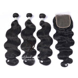 3 Bundles With 4X4 Lace Closure Body Wave - sogoodhair